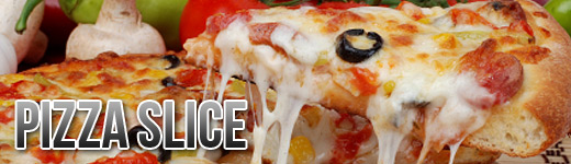 PIZZA BY THE SLICE image